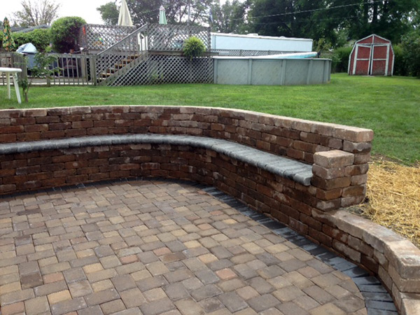 Stone Landscaped Seated patio