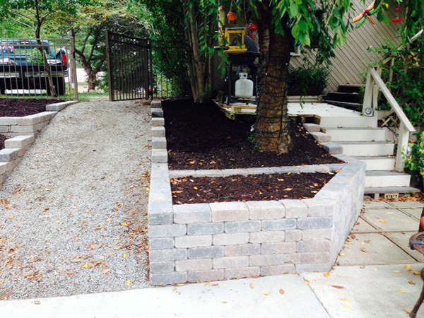 Outdoor Path Landscaping